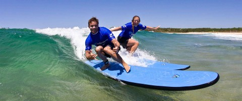 Learn to surf Maroubra beach