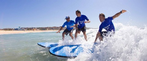 Surf easy course with Lets Go Surfing at Maroubra Beach